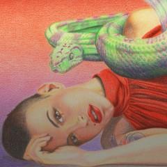 La ragazza col serpente