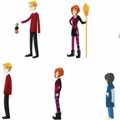 Progetto personaggi